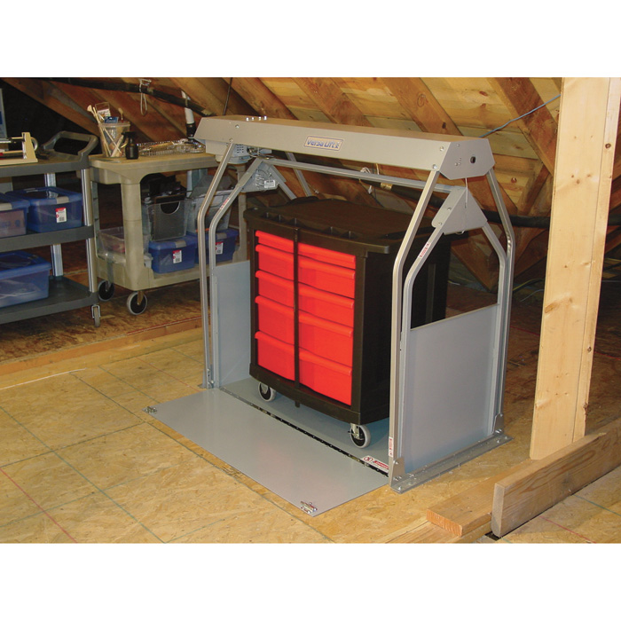 Install Pictures | Attic Lift System